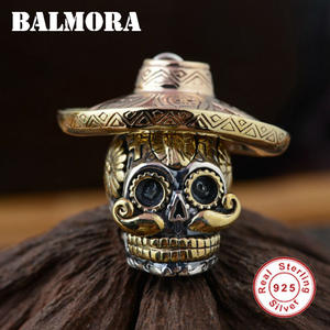 BALMORA Real 925 Sterling Silver Pendants Jewelry