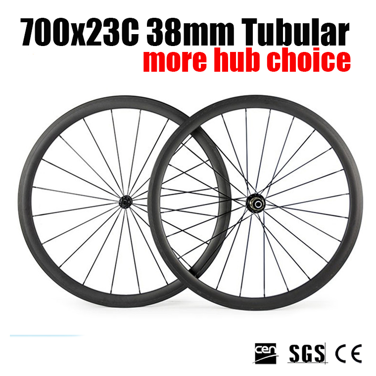 Catazer Racer 700x23T 38mm Tubular Road Bicycle Accessories Wheelset Full carbon Wheels with Basalt brake surface for Triathlon 700c carbon wheelset 50mm u shape wheels for bicycle 25mm tubular roue carbone pour velo route carbon bicycle wheel basalt brake