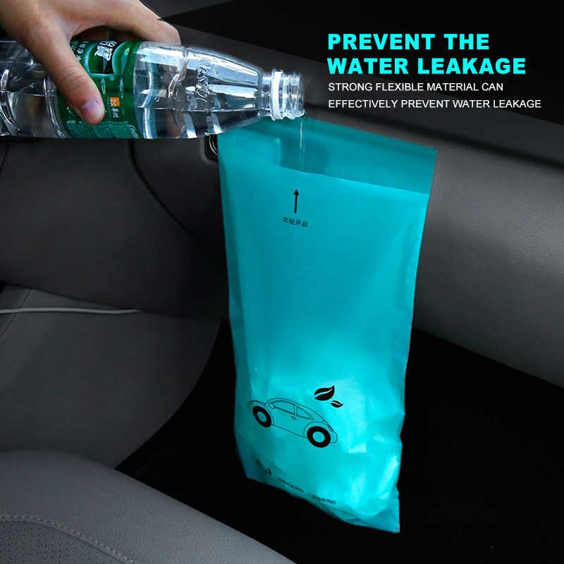 5x 防水使い捨て自己粘着生分解性キッチンオーガナイザーごみ箱ごみ袋ホルダー車ごみビンオフィスキッチン