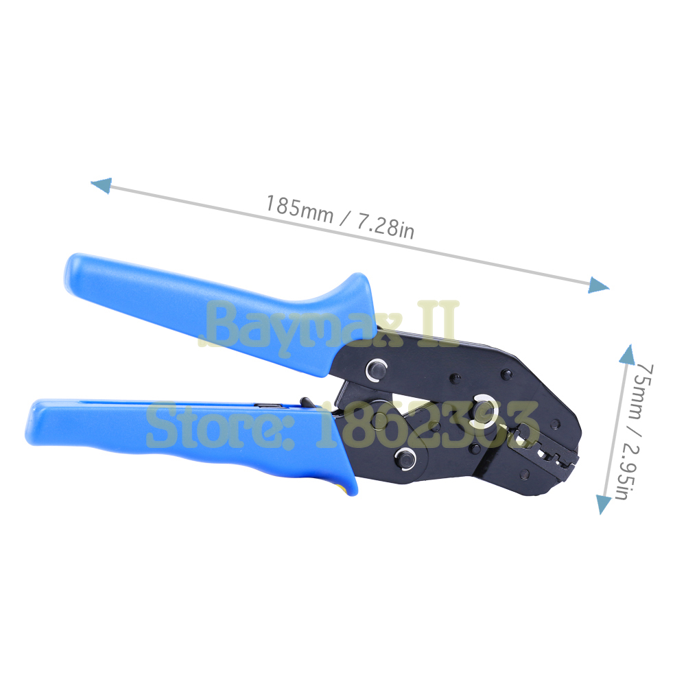 SN-02C 1 Piece New Insulated Terminals Crimping Pliers AWG24-14 0.25-2.5mm²