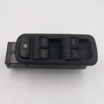 Per 09-12 nuova Fiesta interruttore sollevatore vetro anteriore anteriore sinistro della finestra di potere interruttore di sollevamento