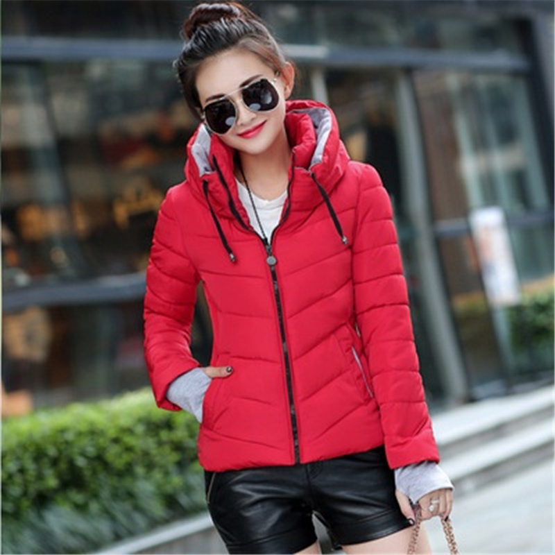 ZOGAA Plus Size S-3XL Women Spring Thin   Parka   Fashion Hooded Jacket Slim Fit Streetwear Multicolor Casual Cotton Jacket Coat