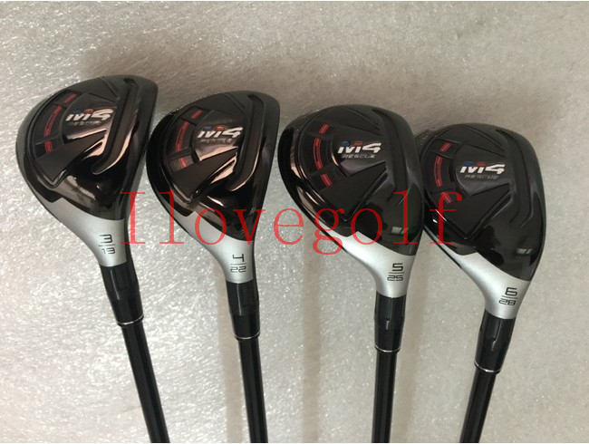 Golf Clubs M4 Hybrids Clubs Golf M4 Rescues 19 22 25 28 Regular Stiff Graphite Shafts