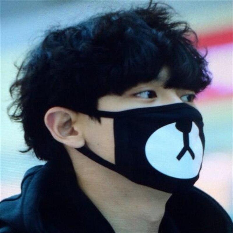 Baumwolle Buchstaben Druck Weichen H006 Dauerhaft Im Einsatz Kpop Exo Park Chanyeol Maske Für Frauen