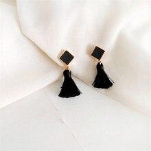кожаные серьги-капельки, традиционные Качественные