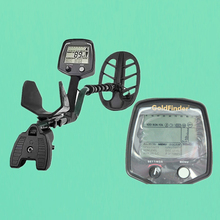 Professional Gold Finder Underground Metal Detector GF2+headphone+charger+individual White box package