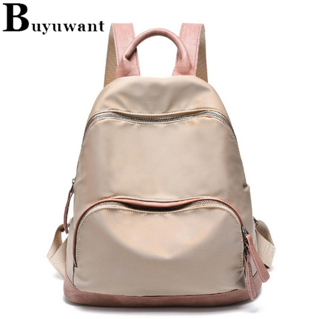 4f0677b2be48 Buyuwant Oxford backpack Oxford cloth leisure fashion travel backpack for  girl student school bag BM01-BP-njxyxx