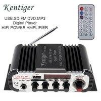 DC 12V 2CH HIFI Auto Car Power Amplifier FM Radio Stereo Audio Music Digital Player Support