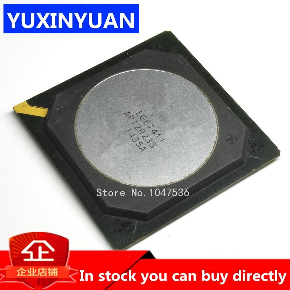 LGE7411 E7411 BGA New original authentic integrated circuit IC LCD chip electronic 2pcs/lot
