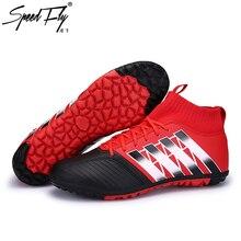 Speedfly hombres fútbol Botas TF de interior Zapatillas de Soccer Futsal  formación profesional deporte Zapatos sneakers fcb36d0c5f749