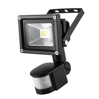 AC85 265V Super Bright LED Flood Light Outdoor Lamp 10W PIR Motion Sensor Waterproof IP65 Induction