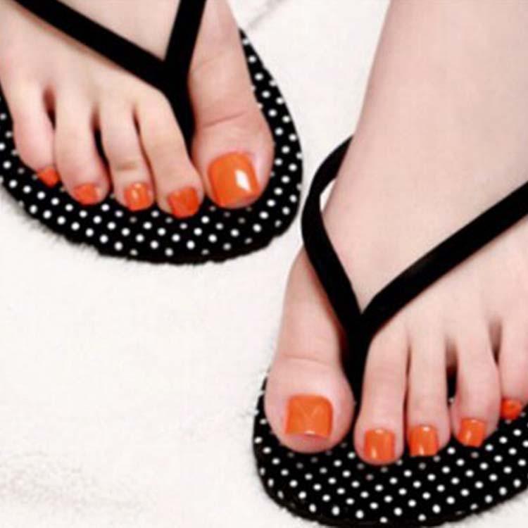 500Pcs/Bag Feet False Toe Tips In Bag Nail Tips Natural French ...