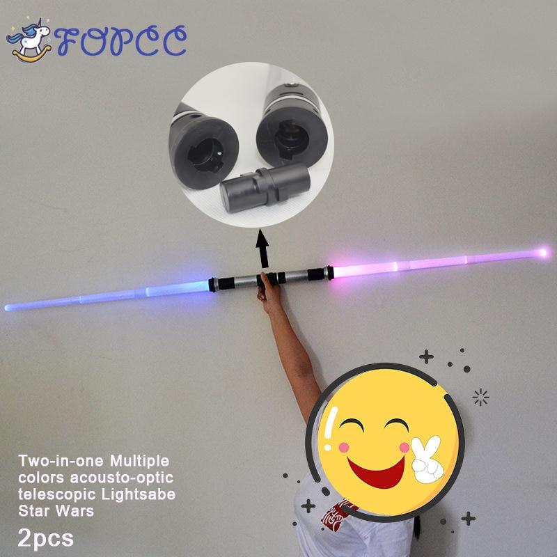 Lightsaber Boy Toys Interesting Star Wars Light Sword Light Music For Children's Toy Telescopic Swords Luminescence Games