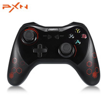 PXN 9606 PXN-9606 Wireless Bluetooth Gamepad Game Controller Portable Handle Bracket for Android Smartphones Tablet PC TV Box