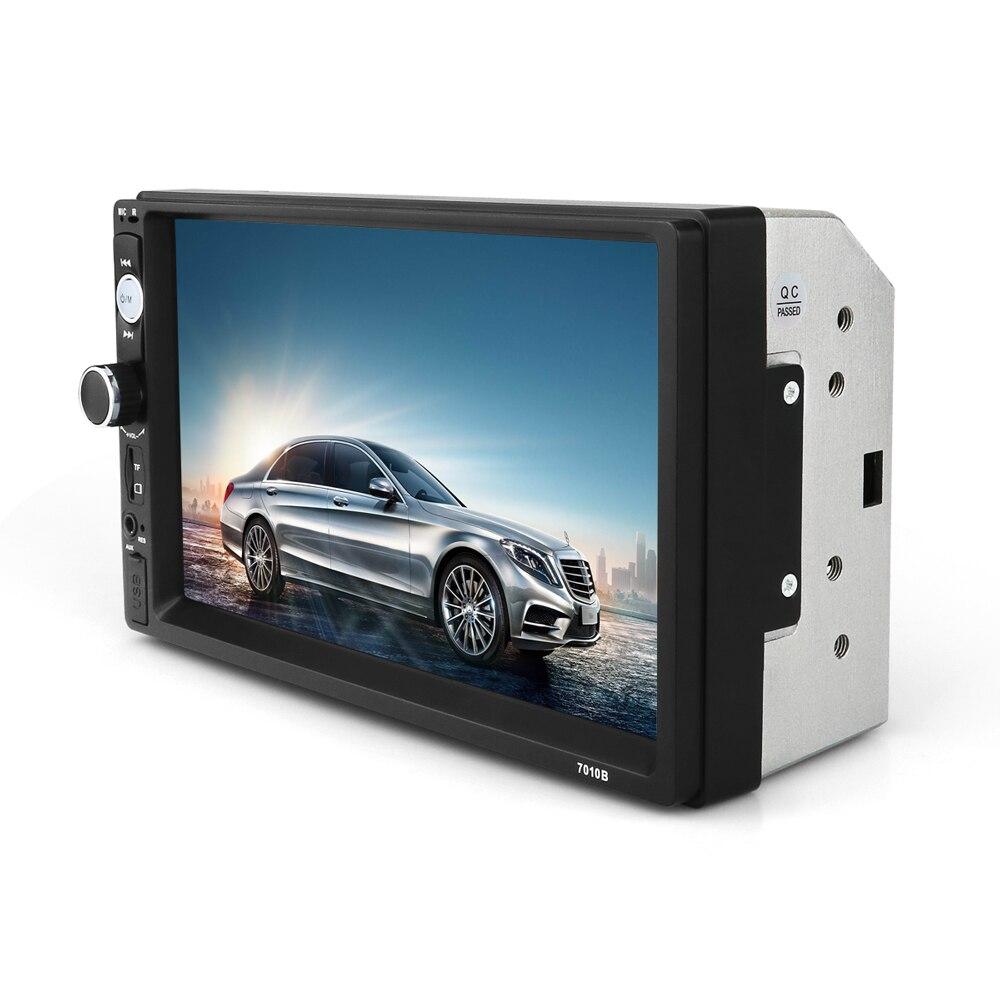 2 din 7 Car MP5 font b Multimedia b font Player Universal Car Radio Player Touch