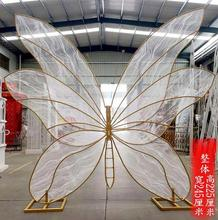 New wedding props butterfly dance background wing model iron dress layout window display Butterfly