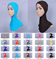 2015 Wholesale women Moder hat Muslim ethnic style women's cap Can do headscarf hijab for Girls Teens lady 20 colors