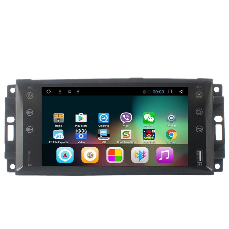 Chogath 4 ядра Android 7,1 gps навигации для Jeep Wrangler командир компасы Grand Cherokee Dodge оперативная память Chrysler Sebring 300C