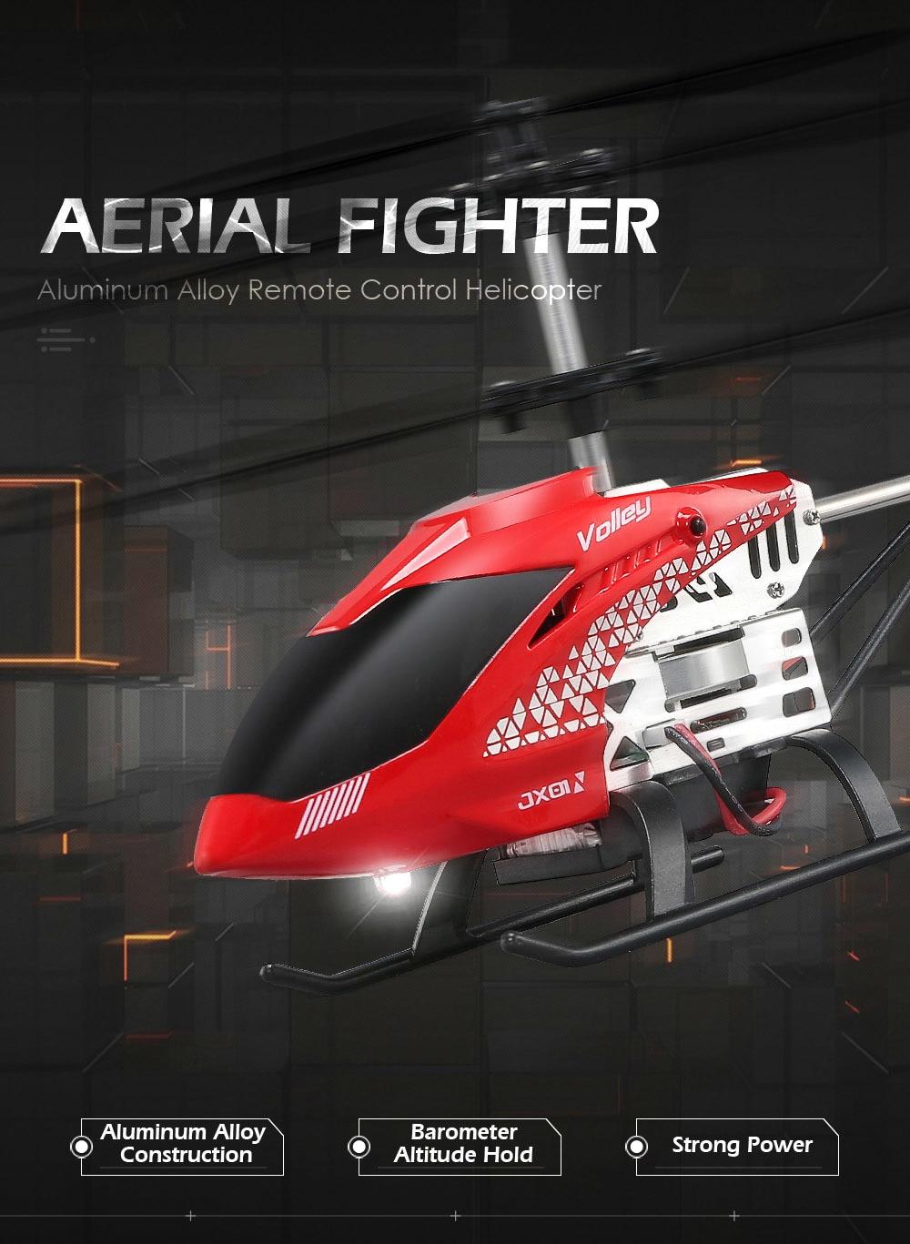 BTN Jx01 Rc ヘリコプターバロメーター高度ホールドと強力なパワーアルミ合金建設ラジオコントロール 1