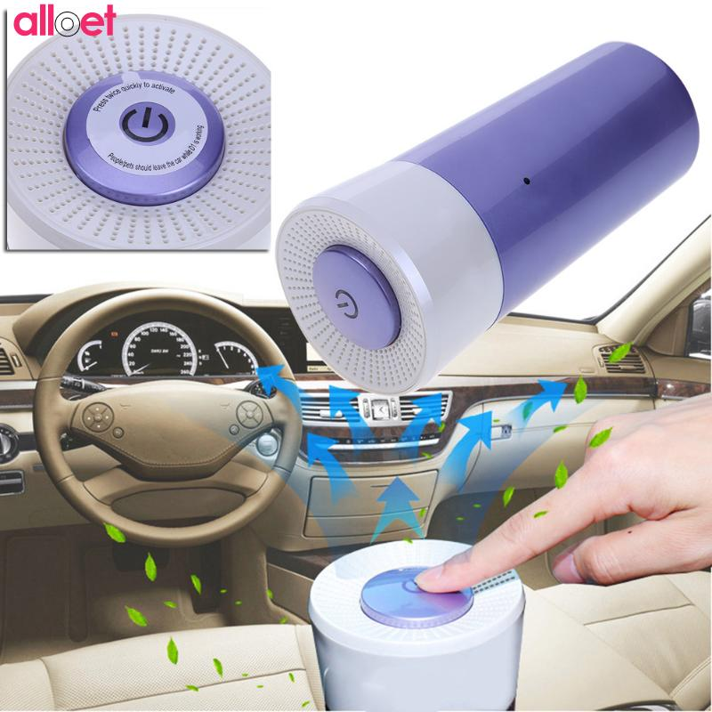 Mini Auto Air Purifier Active Oxygen Air Freshener Cleaner Remove Odor Air Ozonizer Ozone Ionizer Generator Sterilization Germic все цены