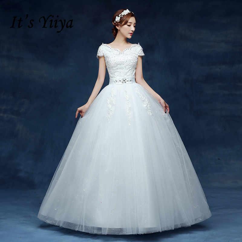 Free Shipping Vestidos De Novia Real Photo White V-neck Vintage Lace  Wedding Dresses Short a88de2e2c5ad