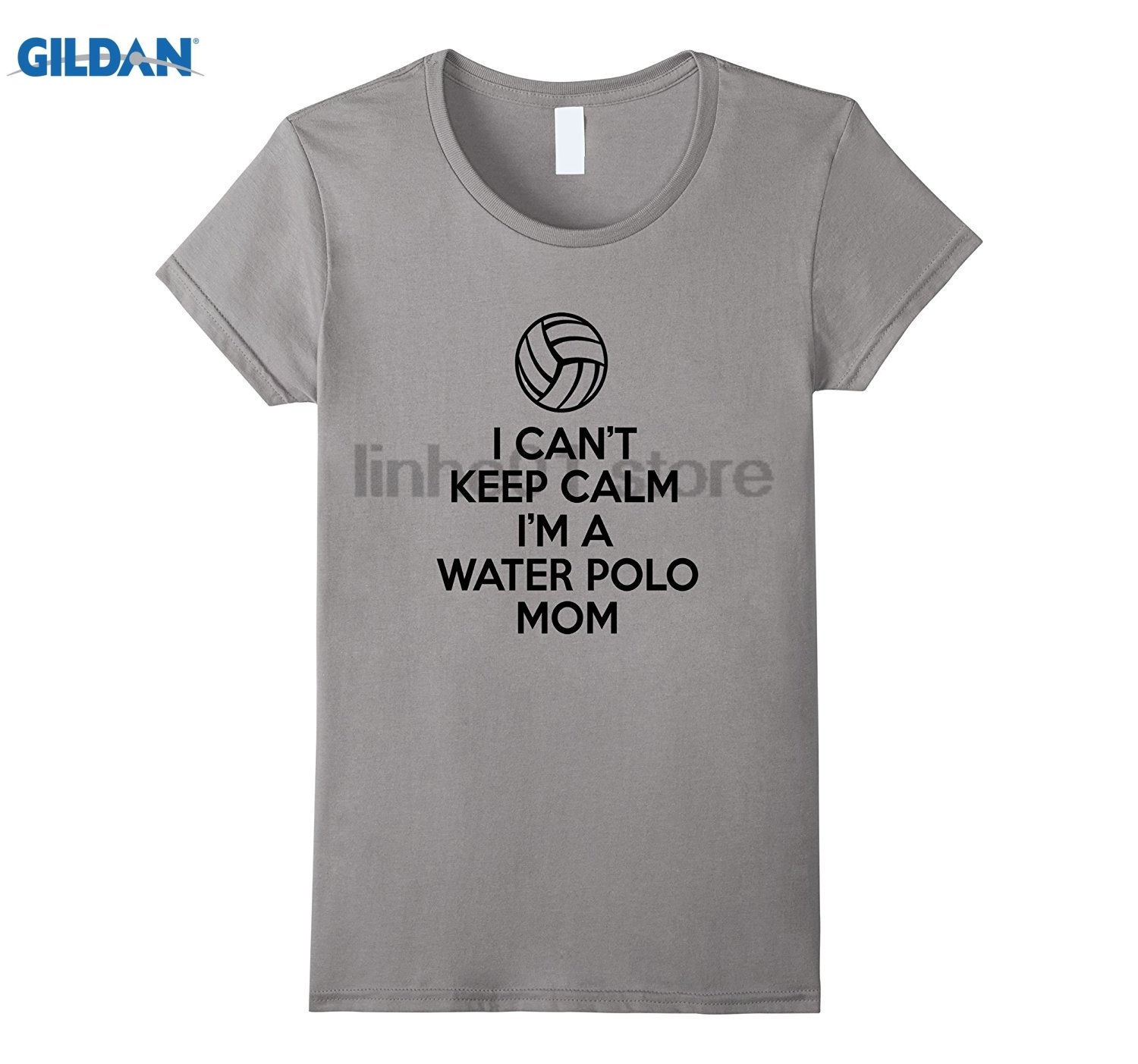 GILDAN I Cant Keep Calm Im A Water Mom Shirt Gifts For Women Hot Womens T-shirt