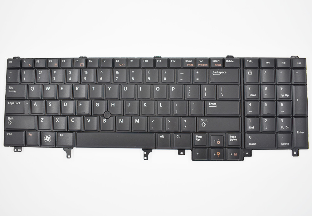 Keyboard for Dell Latitude E6520 E6530 E6540 E5520 E5530 Backlit/pointer юбка trendyangel trendyangel tr015ewour29