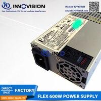 Новый ENP 7660B 1U мини flex 600 Вт Питание с 2*6 + 2 разъем GPU