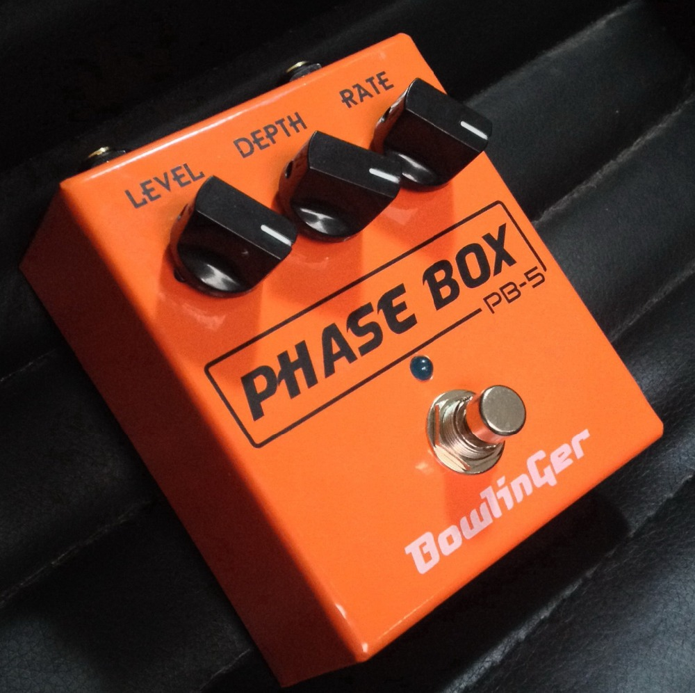 BowlinGer Electric Guitar Pedal Phase Box Guitar Effects  Handmade Stompbox Copy by Phase 90 Guitar Pedal  Free Shipping