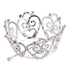 Crystal Rhinestone Bride Wedding Comb Hair Accessory Jewelry Anniversary Hairpin