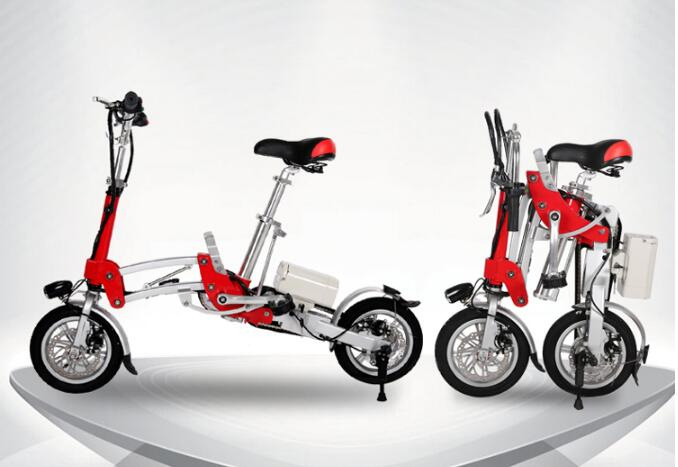 Folding Electric scooter Max speed 30-35km/h 36V Lithium battery electric bike Mini type for unisex free shipping