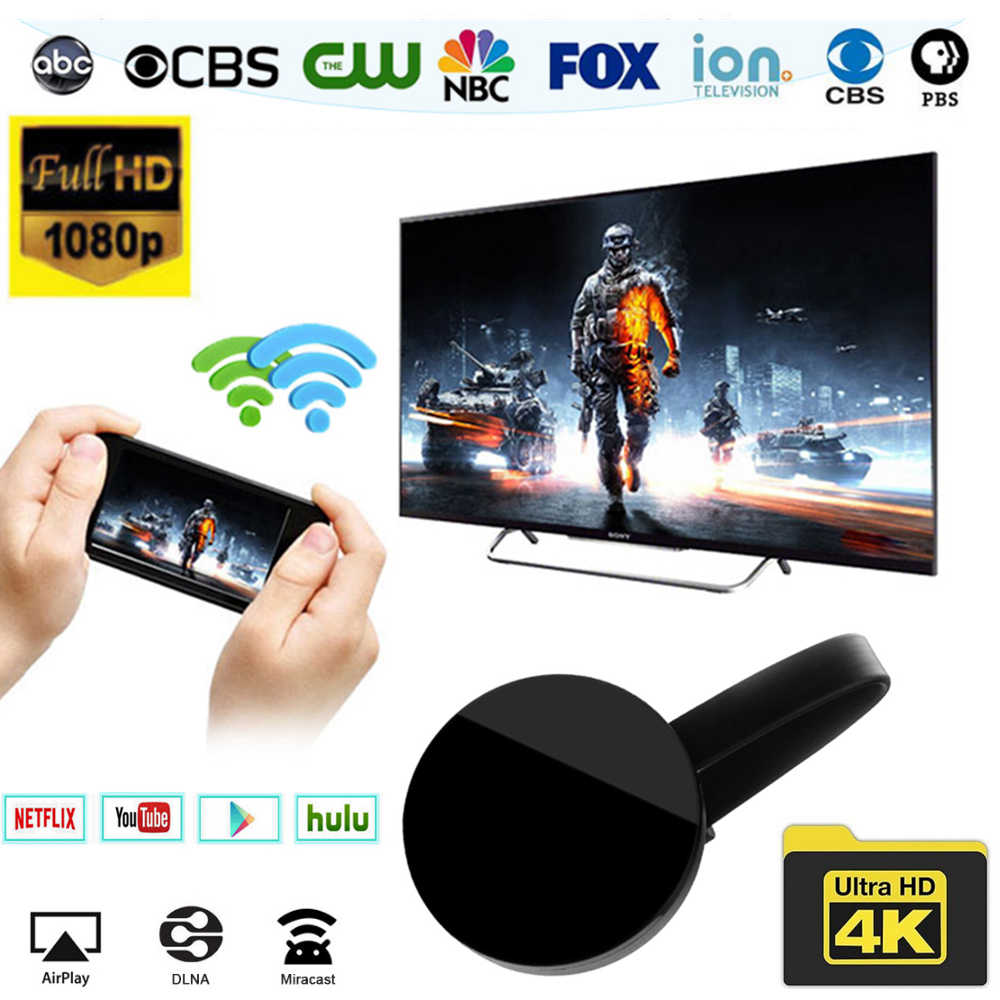 Wireless Wifi Display Receiver Dongle Mirascreen G2 HDMI Media MultiScreen  TV Adapter For Netflix YouTube Chrome Cast