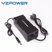 YZPOWER 7.2V 8A 7A 6A Smart Lead Acid Battery Charger for 6V Battery Pack Car With Fan Cooling Li Ion Charger