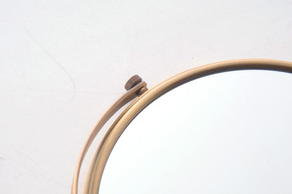Bad accessoires Bad Spiegel Antike Bronze Wand Montiert Lupe Bad ...