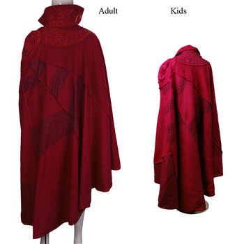 Doctor Strange Costume Kids and Adult Cosplay Steve Red Cloak Costume Robe Halloween Costume Party - DISCOUNT ITEM  35 OFF Novelty & Special Use