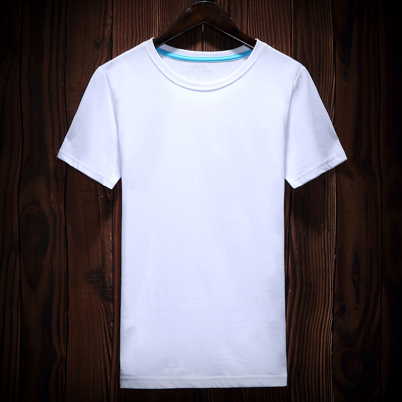 2019 New 100% Cotton Fashion Brand <font><b>White</b></font> <font><b>T</b></font> <font><b>Shirts</b></font> Men Trends Streetwear Tops Summer <font><b>Blank</b></font> Short Sleeve Tshirts Men Clothing image