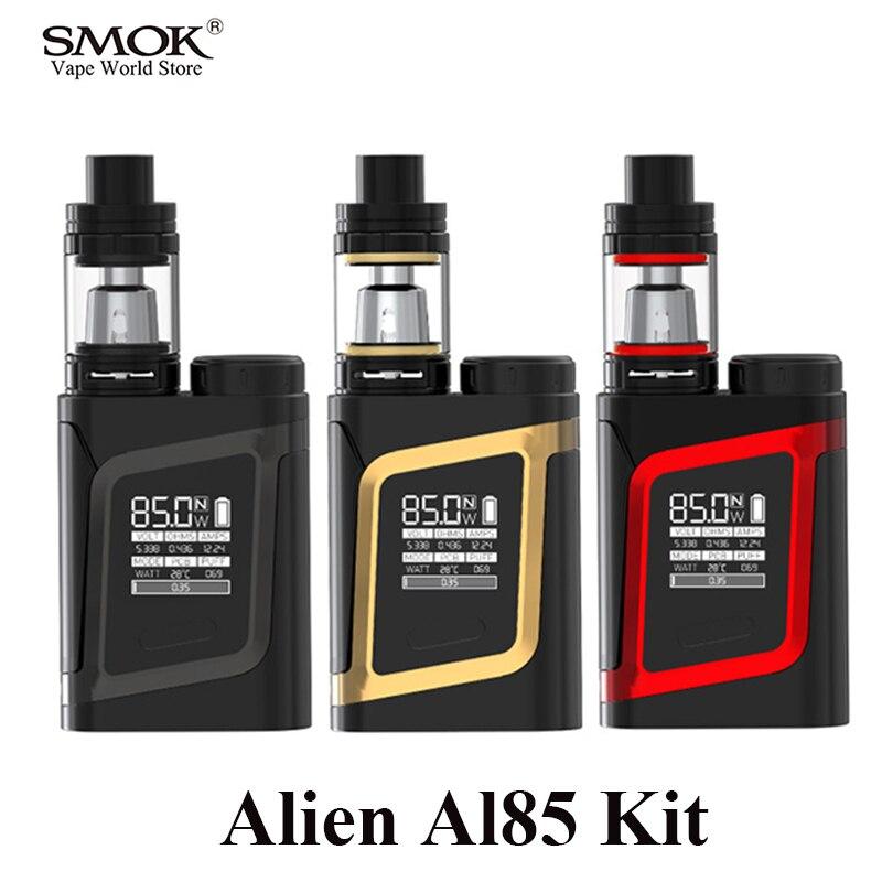 Original SMOK Alien boîte Mod AL85 Kit électronique Cigarette vaporisateur Vape E Cigarette stylo VS Pico S210