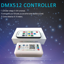 4 Channel DMX512 LED Controller For LED Strip 5050 Bluetooth APP RGB Controller DC 5V 12V 24V Music Controller For Led Light 4CH zy cc150dc12 24v controller for dc compressor qdzh35g