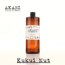 AKARZ Famous brand natural aromatherapy kukui nut oil natural aromatherapy high-capacity skin body care massage spa