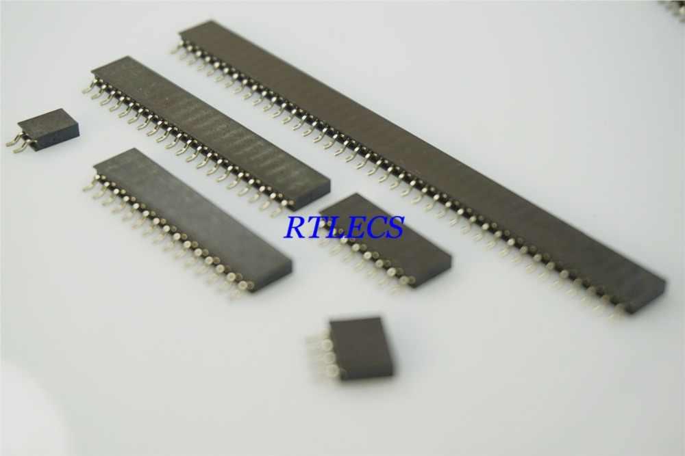 100 шт. 0 079 &quot2 мм однорядные женские Заголовок 2 4 5 8 10 12 15 20 25 28 40 Pin M22 разъем