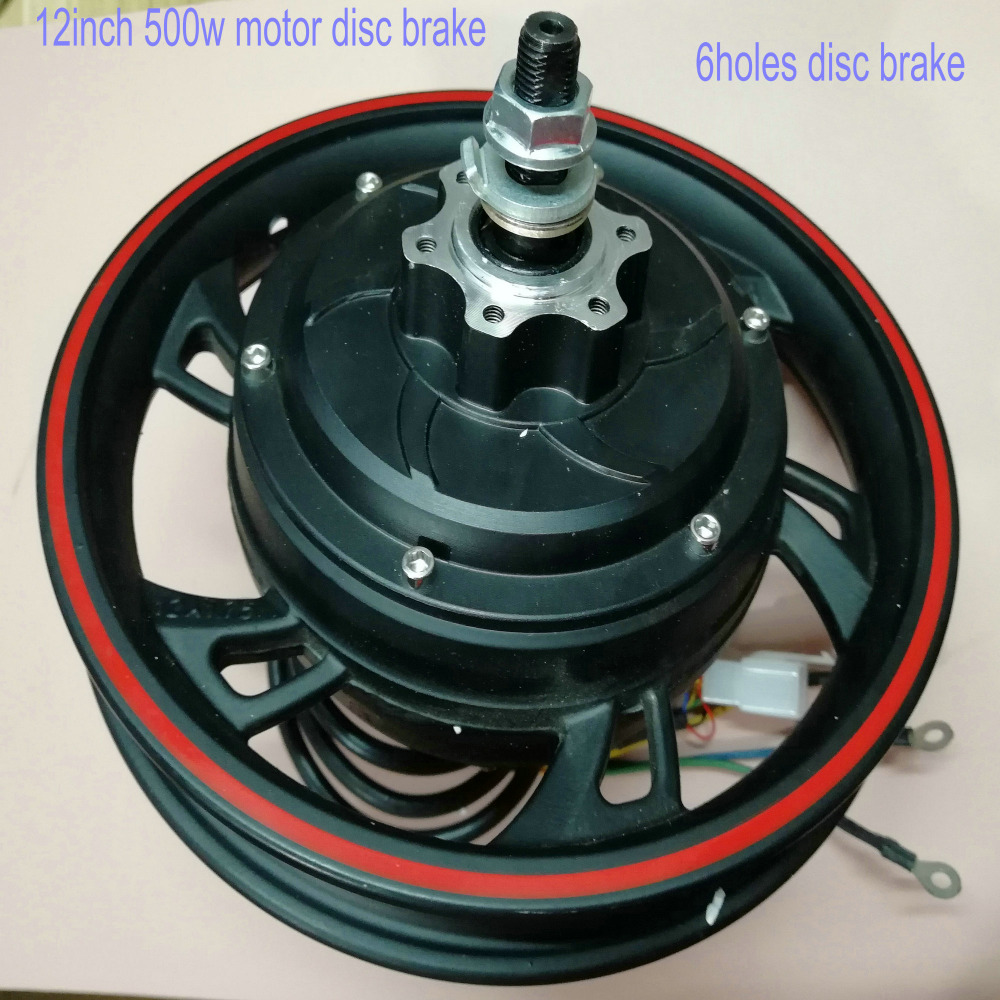 12inch 36v48v500w gearless motor with hallsensor disc/drum brake electric bike scooter MTB tricycle mobility ATV motorcycle part12inch 36v48v500w gearless motor with hallsensor disc/drum brake electric bike scooter MTB tricycle mobility ATV motorcycle part