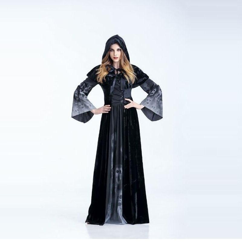 ⊹Traje de bruja de Halloween para las mujeres adultos sexy Magic ...