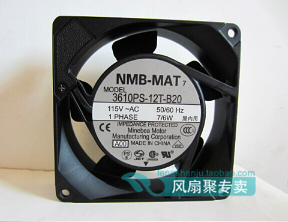 New original NMB 9CM 9025 3610PS-12T-B20 AC115V 7/6W 92*92*25MM AC fan free delivery 9025 9 cm 12 v 0 7 a computer cpu fan da09025t12u chassis big wind pwm four needle