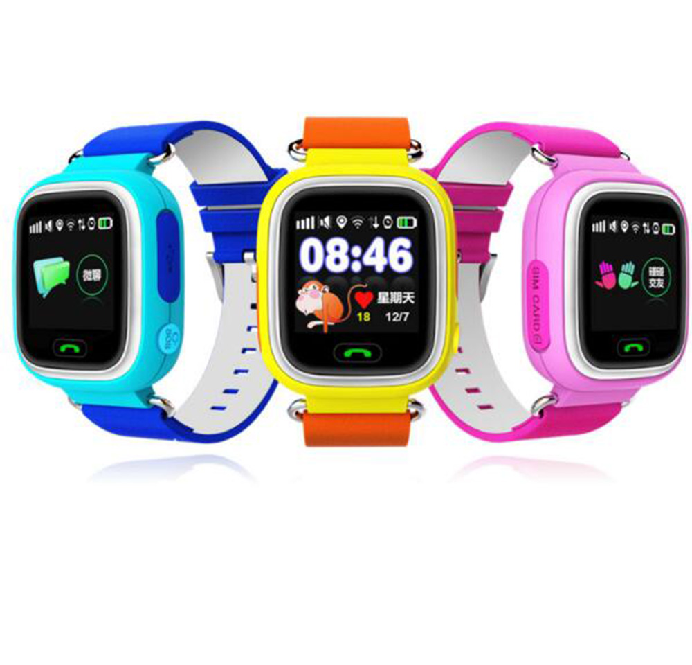 Q90  smart watch GPS baby watch with Wifi Touch screen SOS Call Location Device