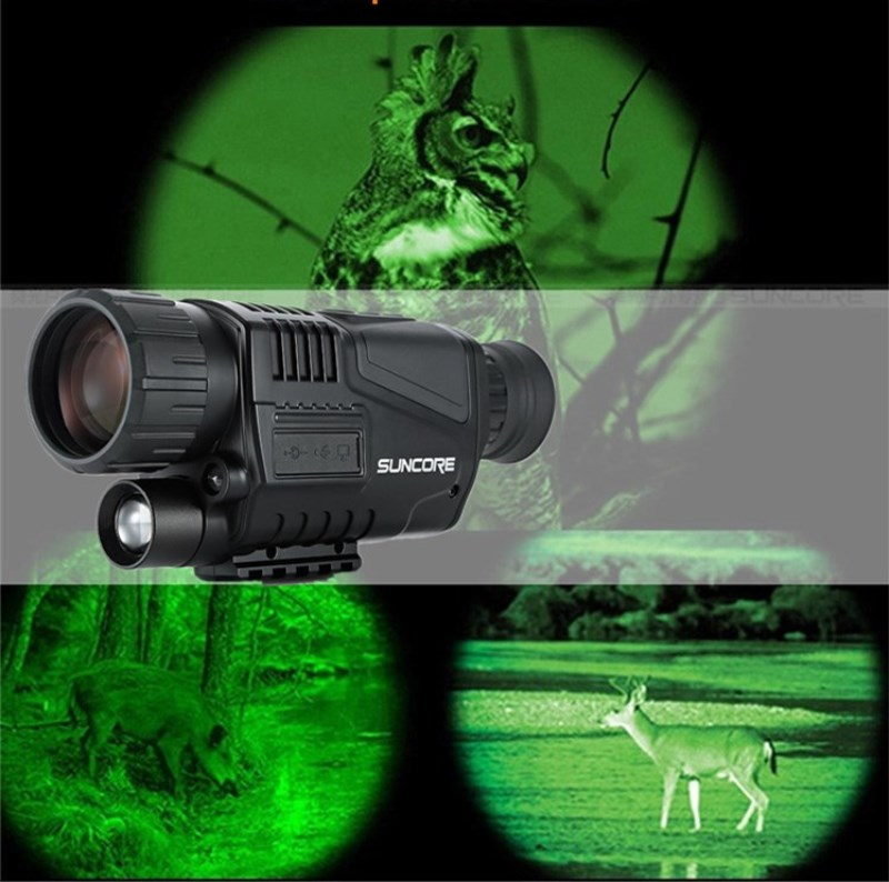 Hunting Night Vision Telescope 5 x 40 Infrared Military Tactical Monocular Powerful HD Digital Vision Monocular Telescope infrared night vision binoculars military high definition digital camping hunting monocular telescope