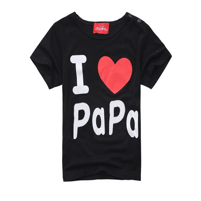 Simple Letter Baby T-Shirt