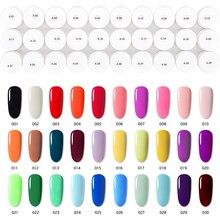 Ensemble de vernis à ongles en Gel de couleur Pure vernis à ongles vernis à ongles vernis à ongles Gel LED