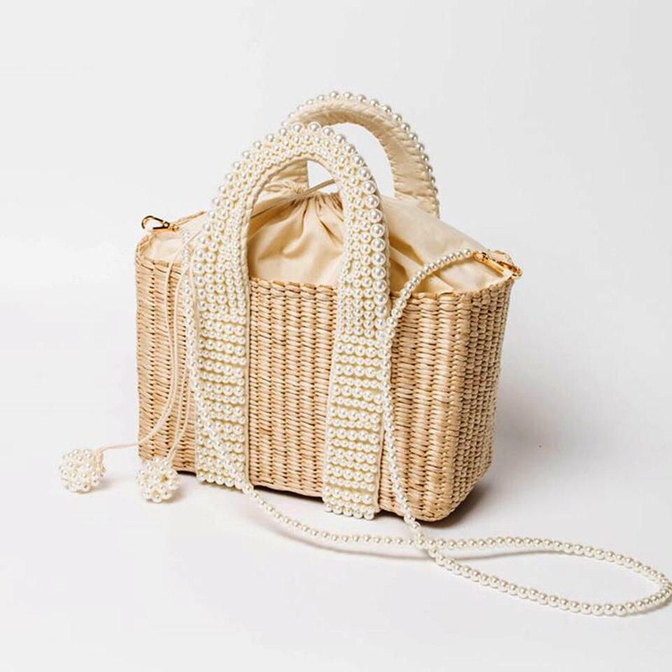 Beach Bag with Pearl (16)