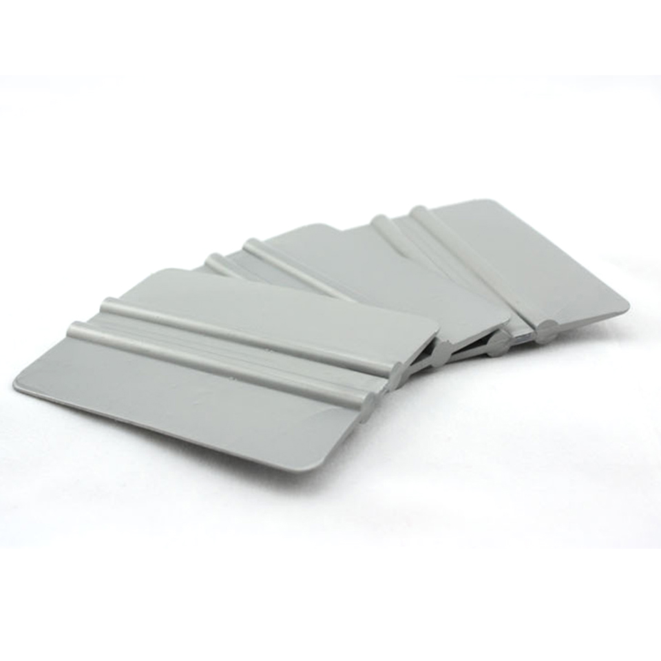New Arrive Good Quality Window Tinting Applicators Gray Bump Cards 10*7.5cm Solf Bondo Squeegee For Car Wrapping Whole Sale