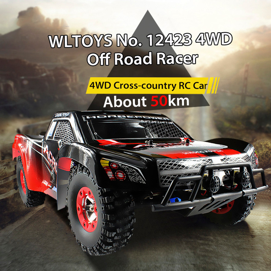 New Wltoys High speed 50KG/H rc car 4WD Rock Crawlers 1:12 RC racing car 4WD drive off-road buggy full proportional model